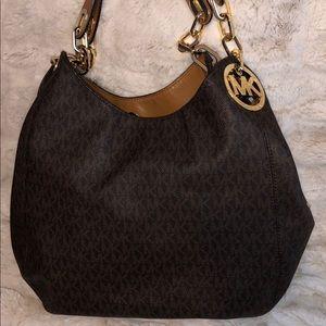 Michael Kors Lille Large Logo Handbag